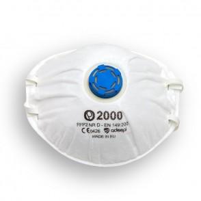 Masque Olympo 2000 jetable FFP2 avec valve