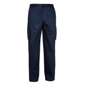 Pantalon en coton avec sareco ignifuge de haute visibilité
