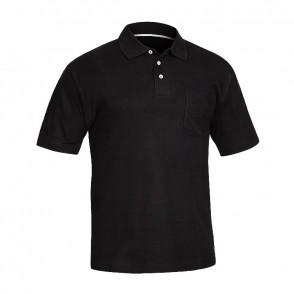 Polo en coton à manches courtes