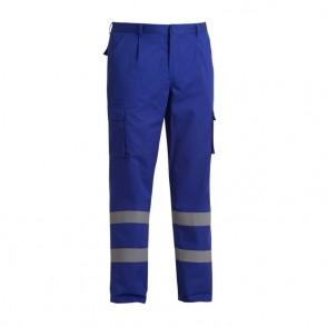 Pantalon à poches multiples avec bandes réfléchissantes