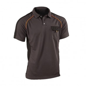 Polo forte manches courtes cooldry